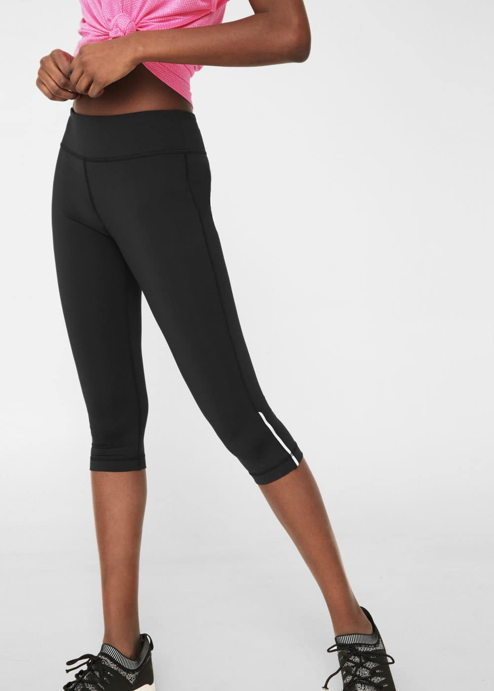 Leggings capri efecto reductor | MANGO