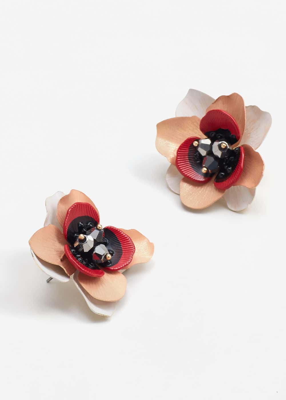 Floral earrings | MANGO