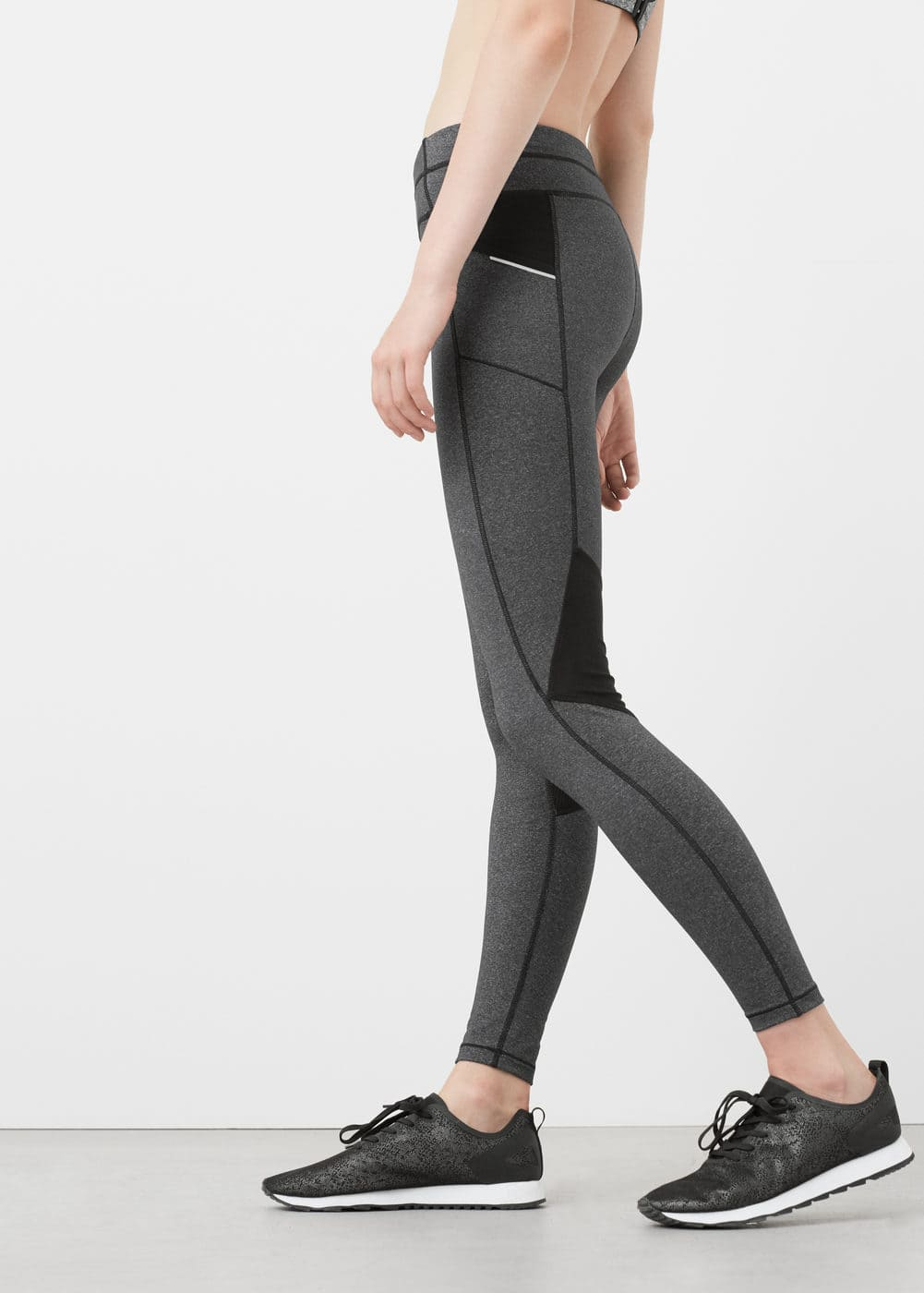 Decorative seam leggings | MANGO