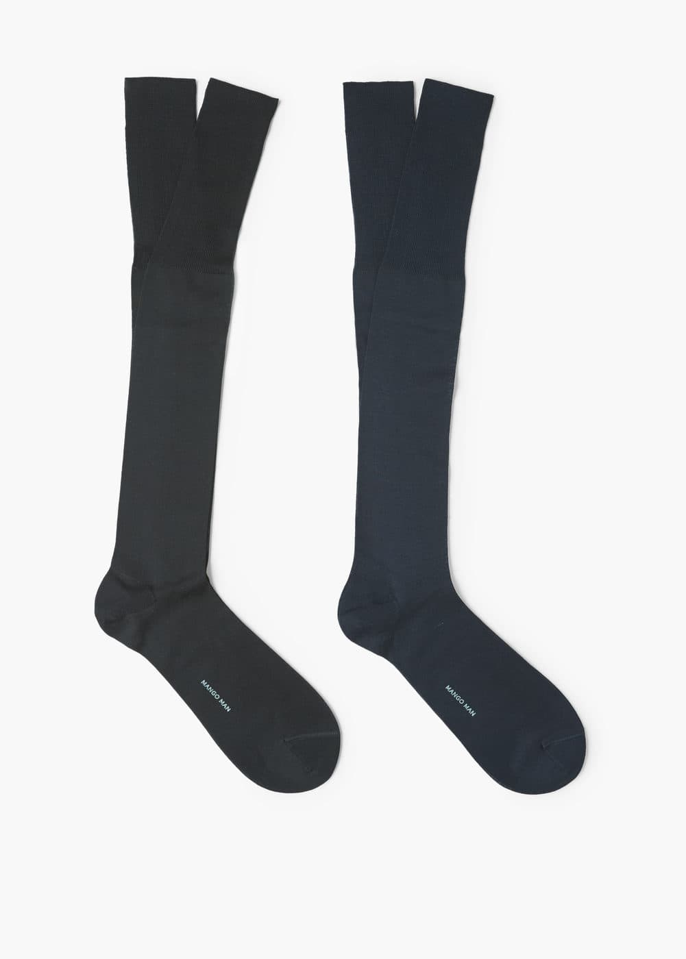 Pack 2 calcetines altos | MANGO MAN