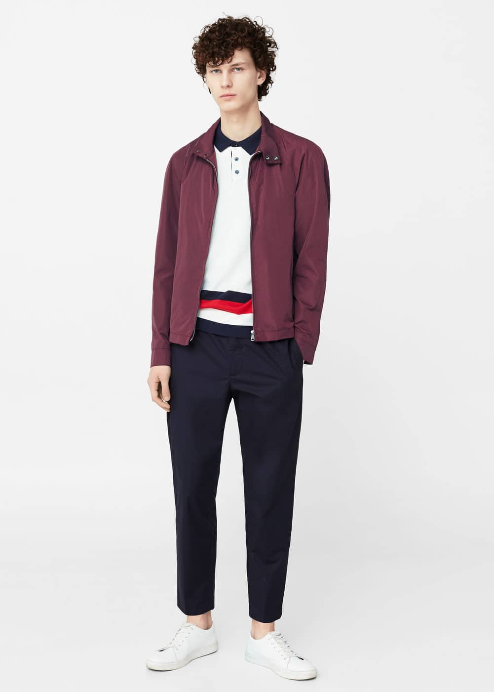 Side-pocket bomber jacket | MANGO MAN