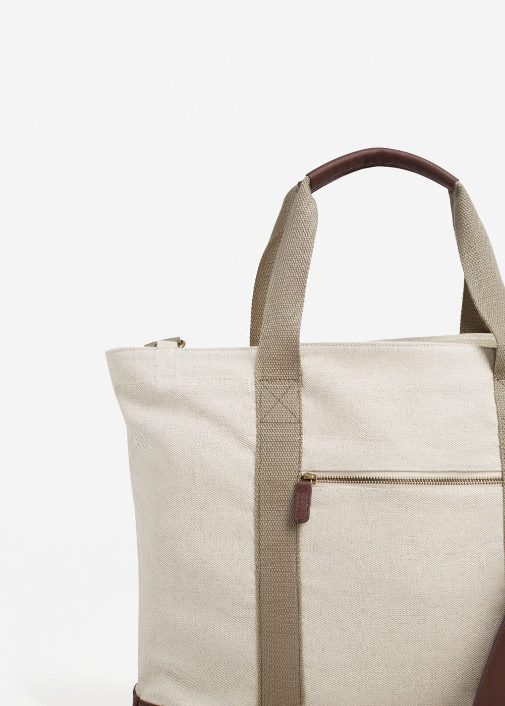 Twill weekend bag | MANGO