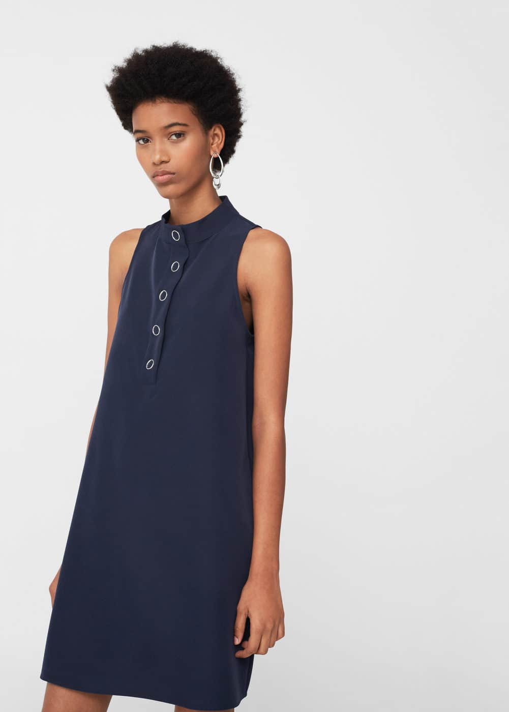 Buttoned dress | MANGO