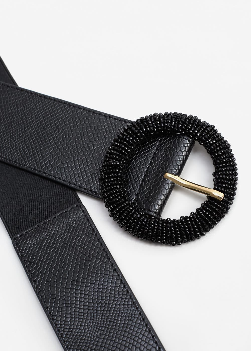 Beads elastic belt | MANGO