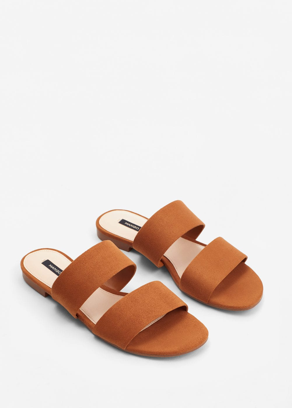 Decorative strap sandals | MNG