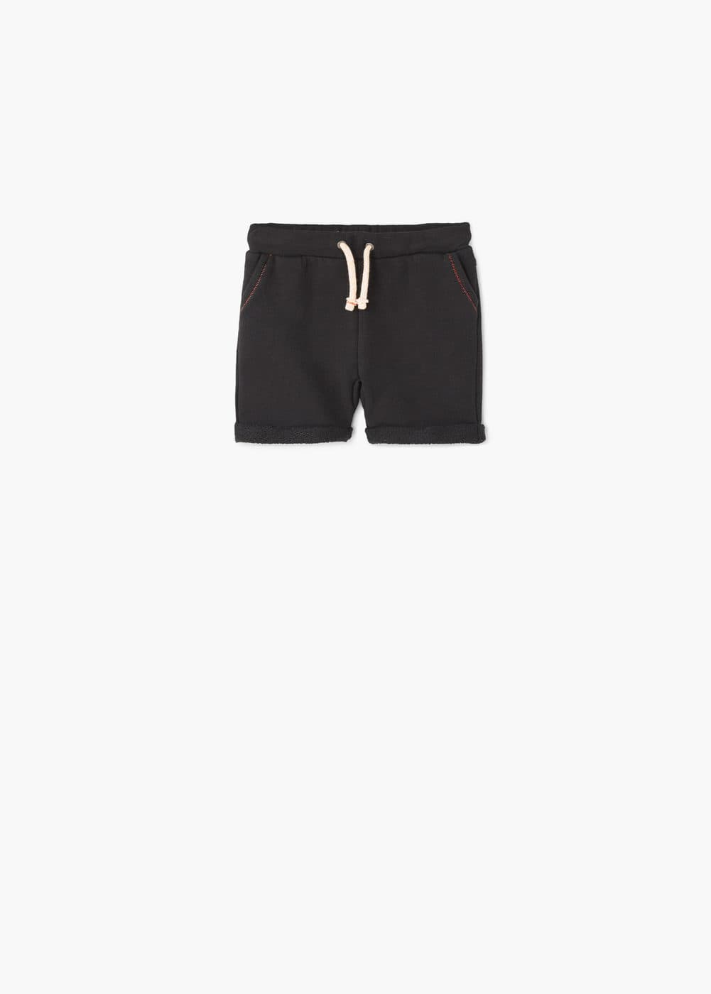 Cotton jogging bermuda shorts | MANGO