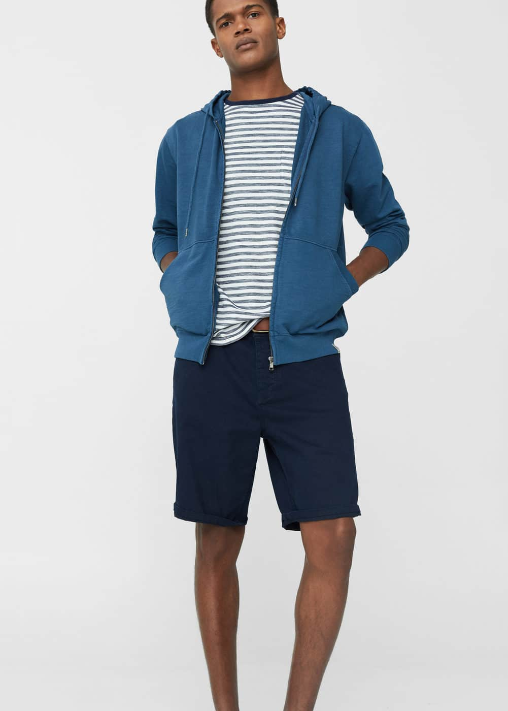 5 pocket bermuda shorts | MANGO MAN