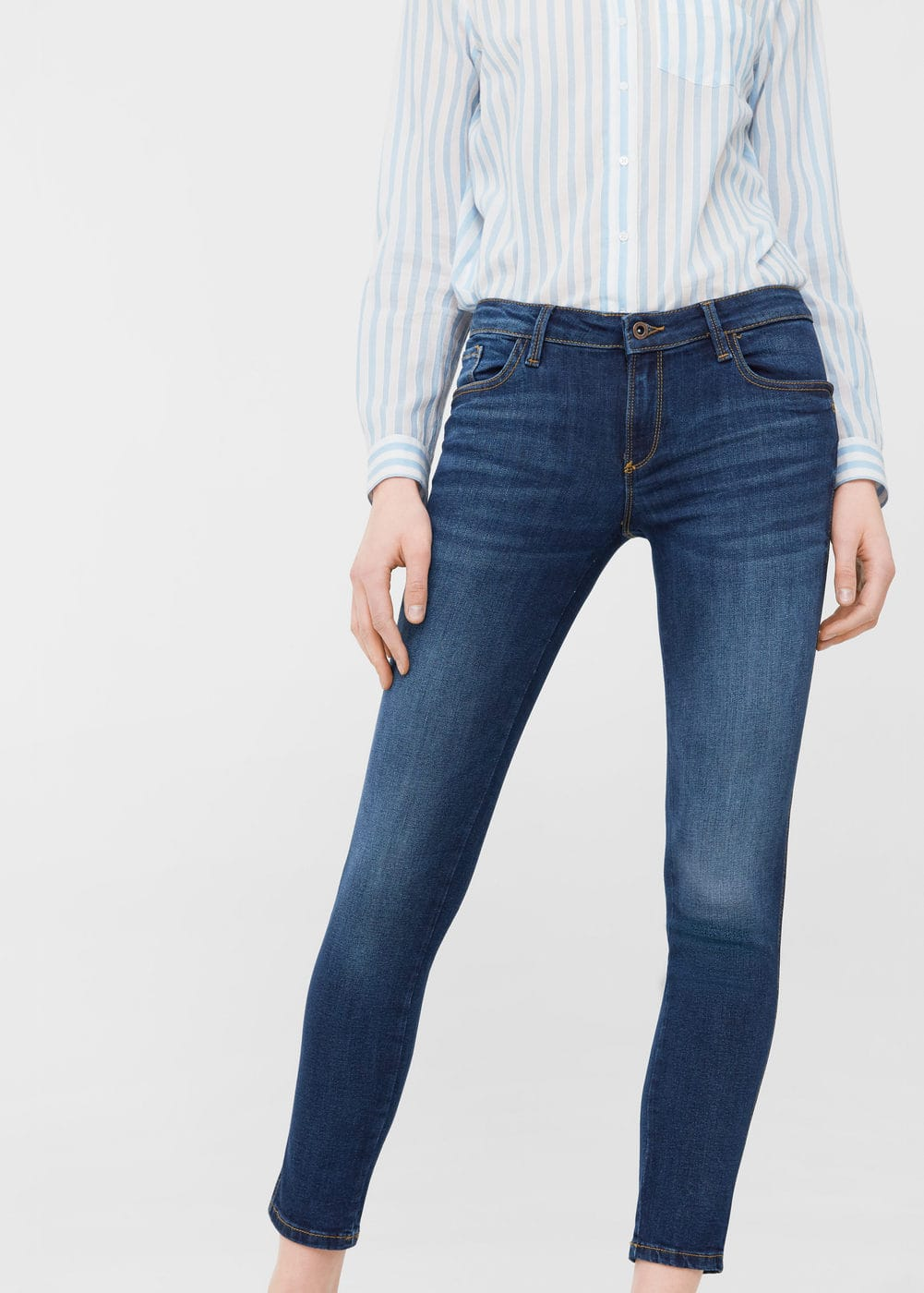 Skinny push-up uptown jeans | MANGO