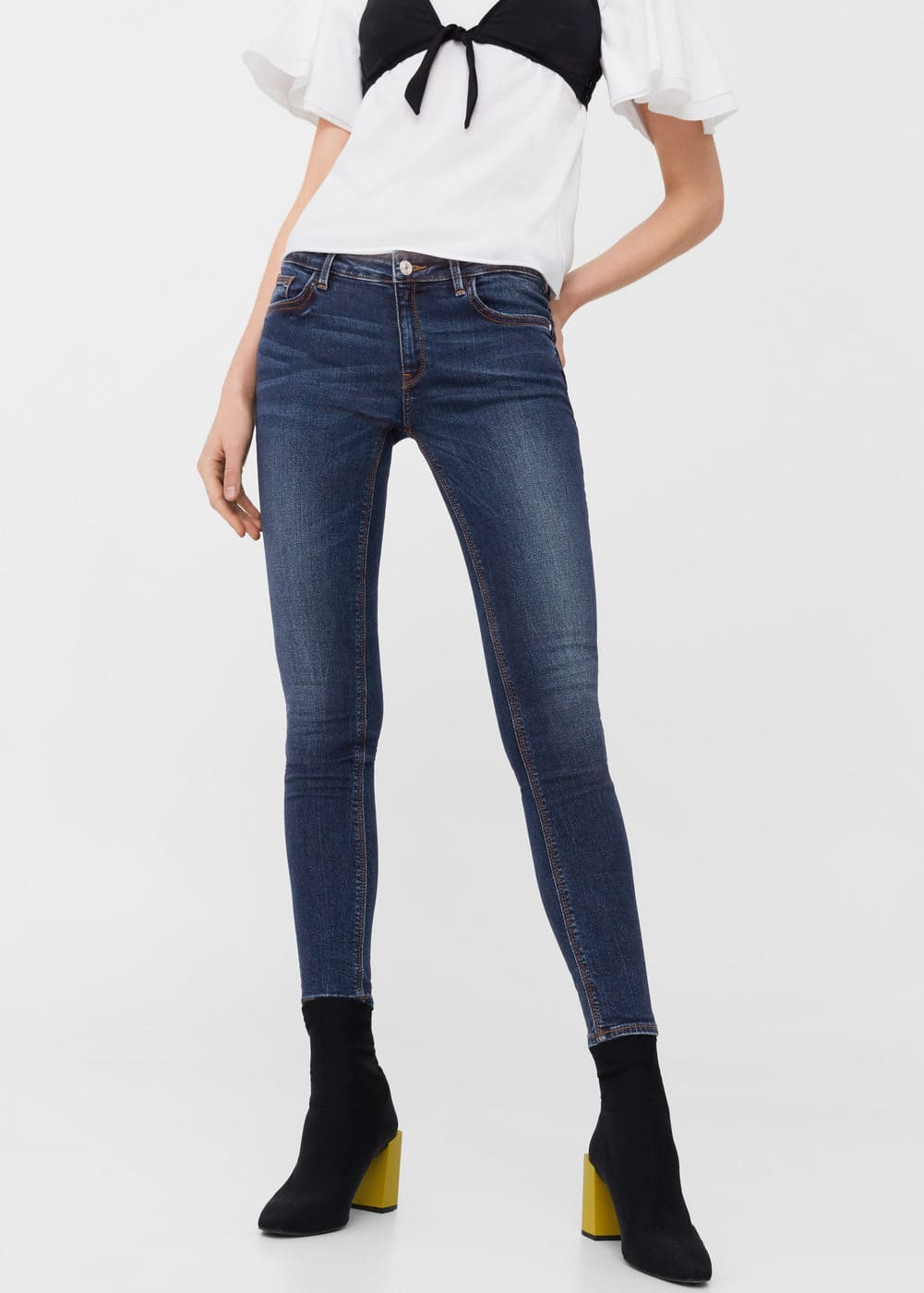 Jeans skinny push up kim Donna | Mango Italia