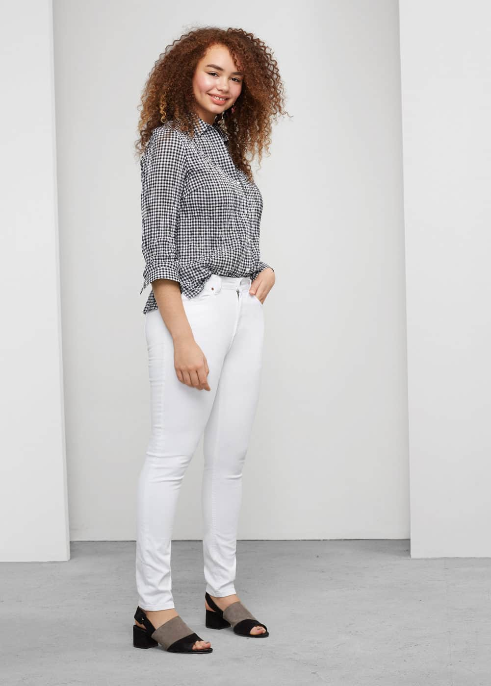 Super slim-fit alexandra jeans | MANGO