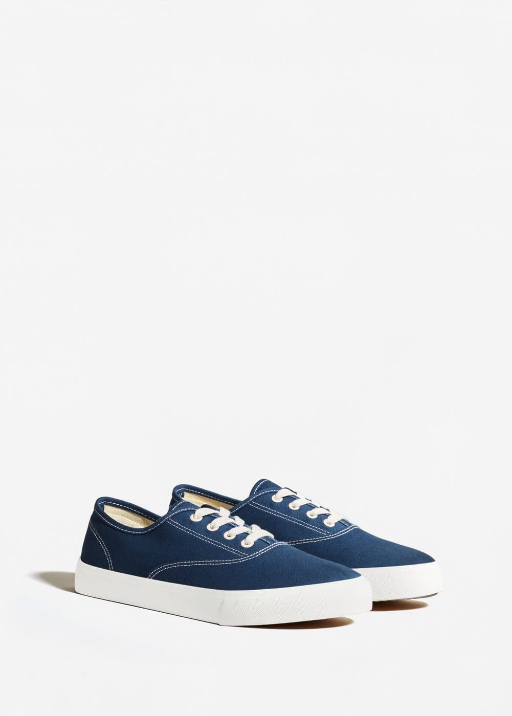 Canvas sneakers | MANGO MAN