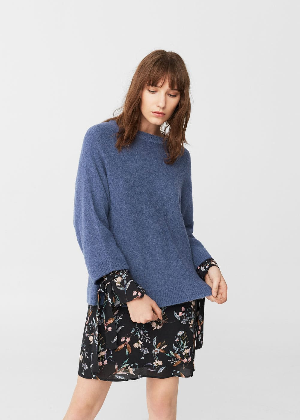 Wool-blend sweater | MANGO