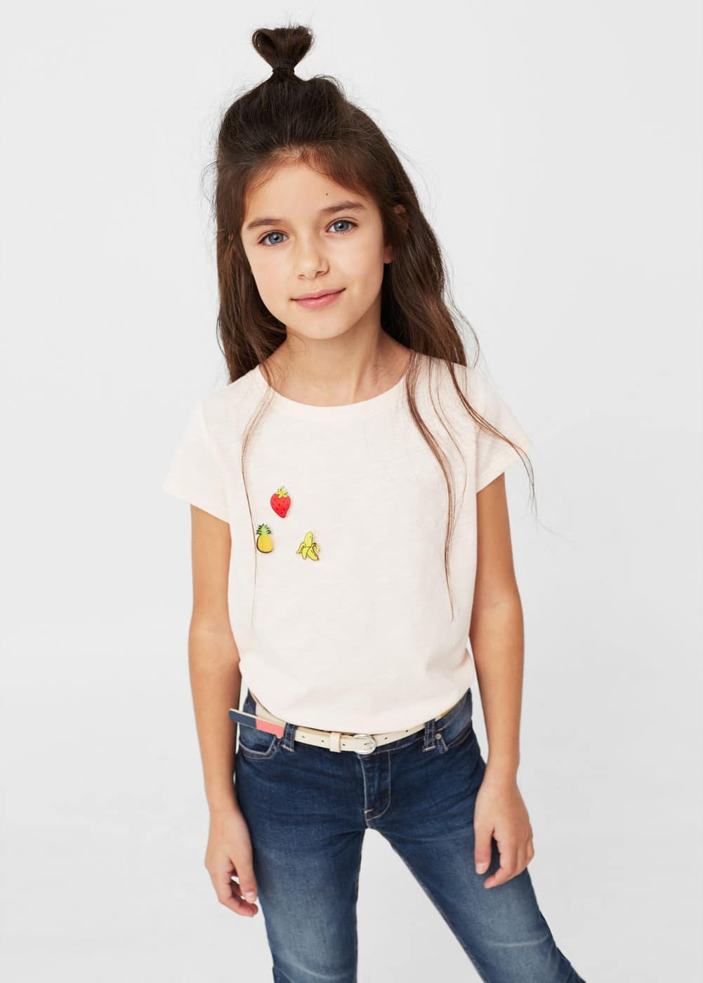 Essential cotton t-shirt | MANGO KIDS