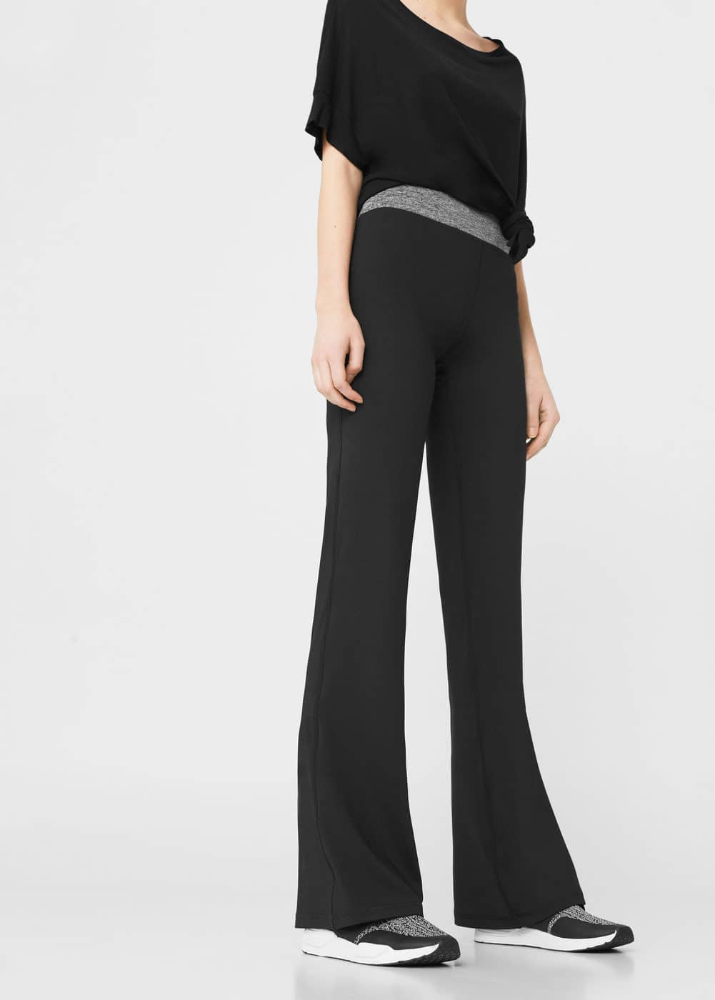 Flared leggings | MANGO