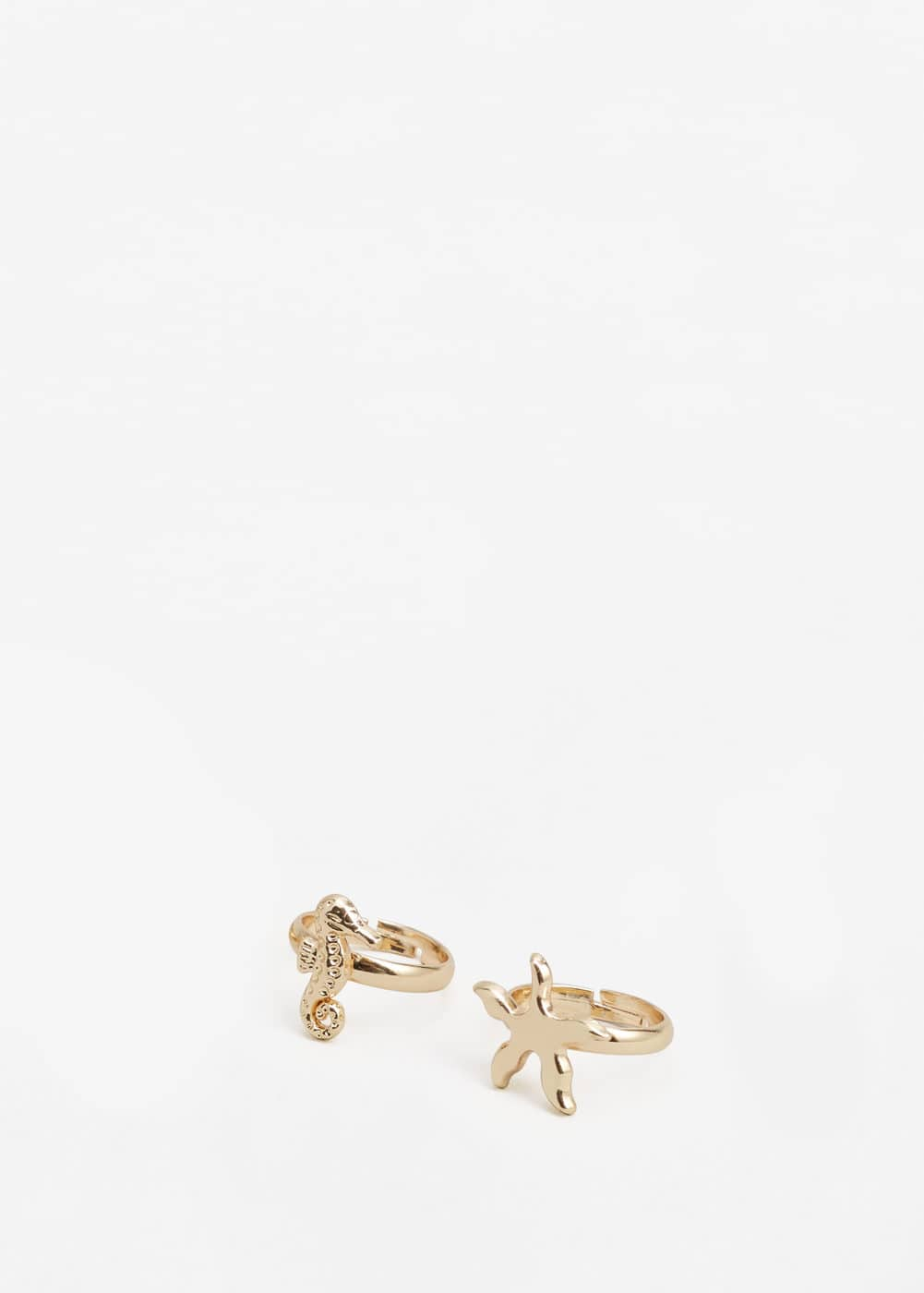 Metal ring set | MANGO KIDS