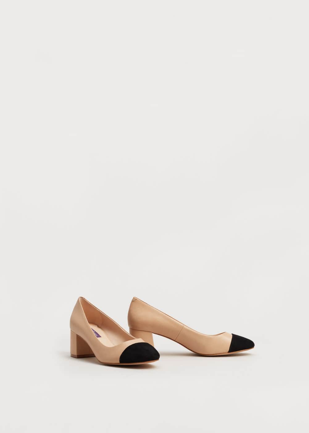 Leather pumps | VIOLETA BY MANGO