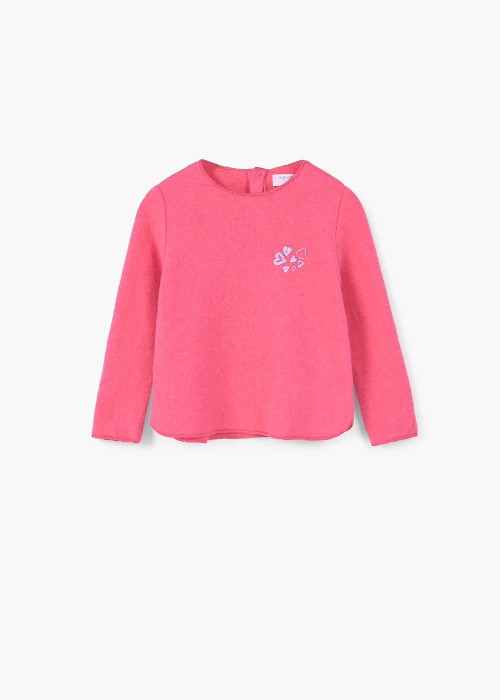 Sweat-shirt coton soft | MANGO