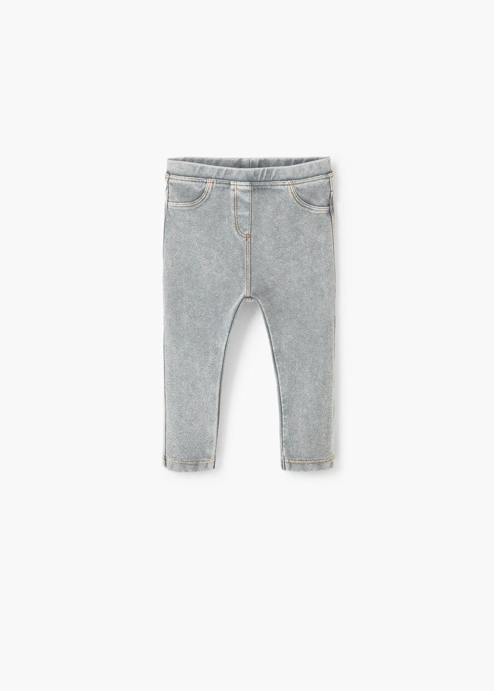 Cotton-blend jeggings | MANGO KIDS