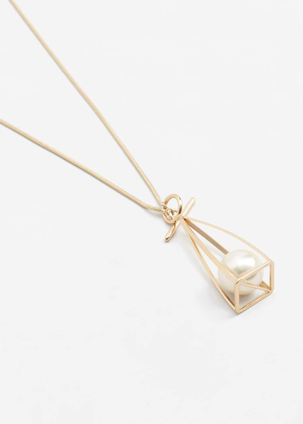 Pendant chain necklace | MANGO