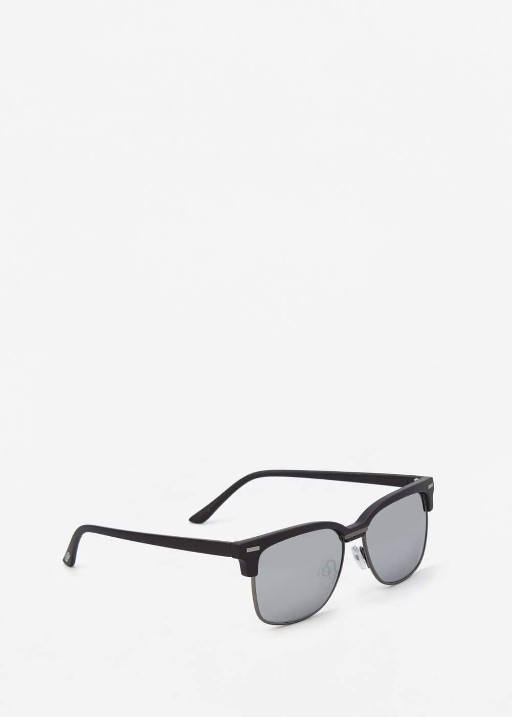 Mirrored lenses sunglasses | MANGO MAN