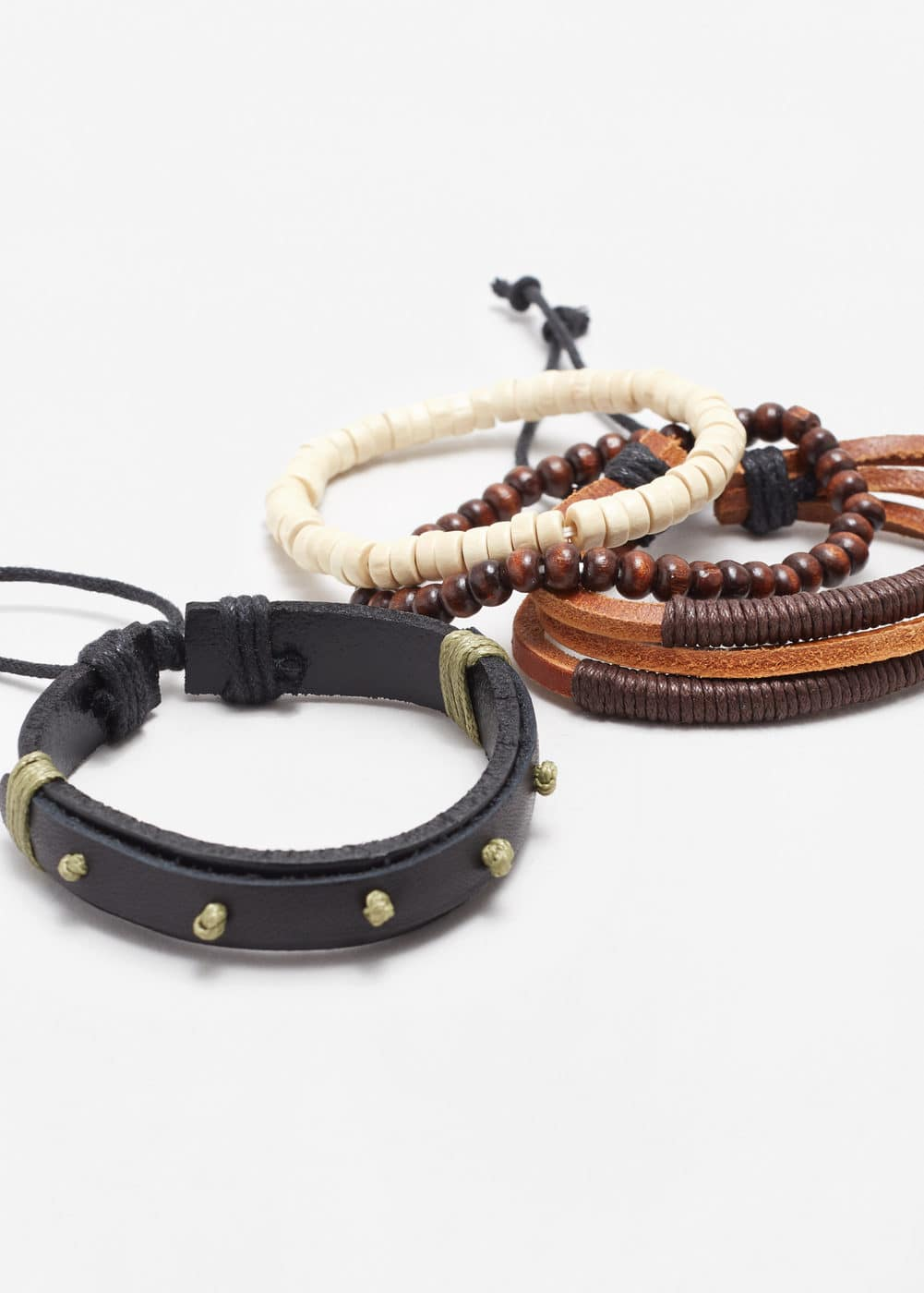 Mixed bracelet set | MANGO MAN