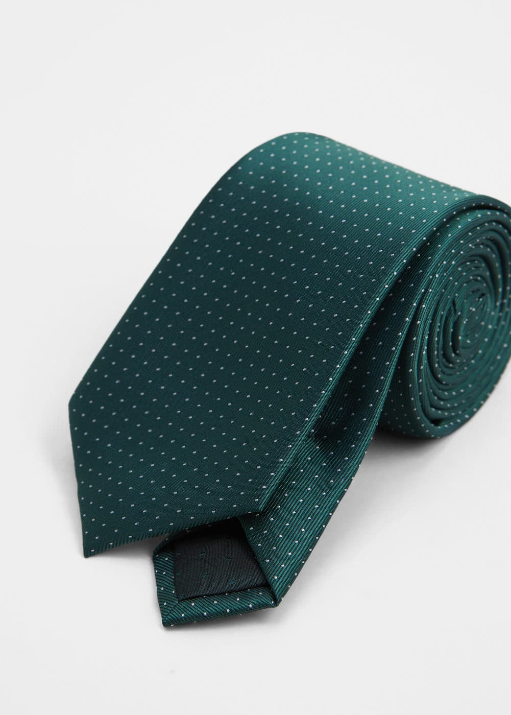 Polka-dot patterned tie | MANGO