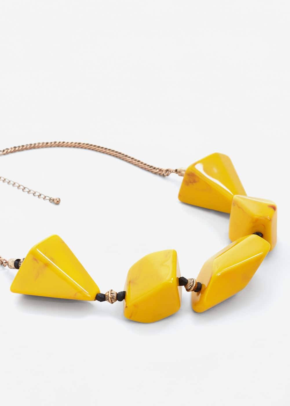 Mixed piece necklace | MANGO