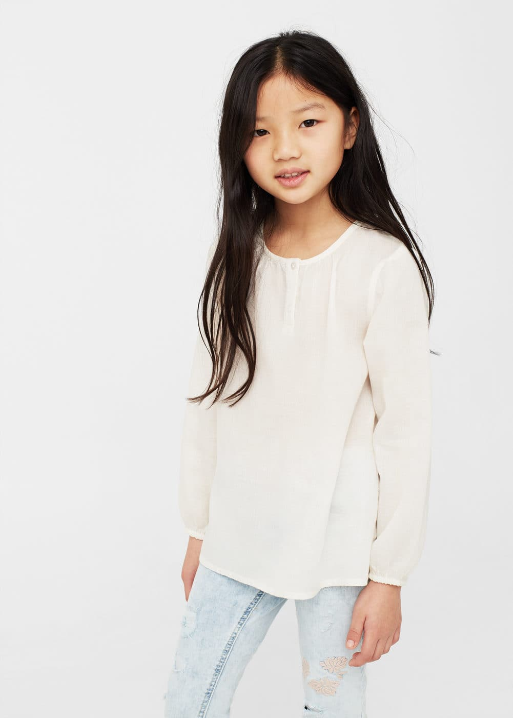 Brusa estil boho | MANGO KIDS