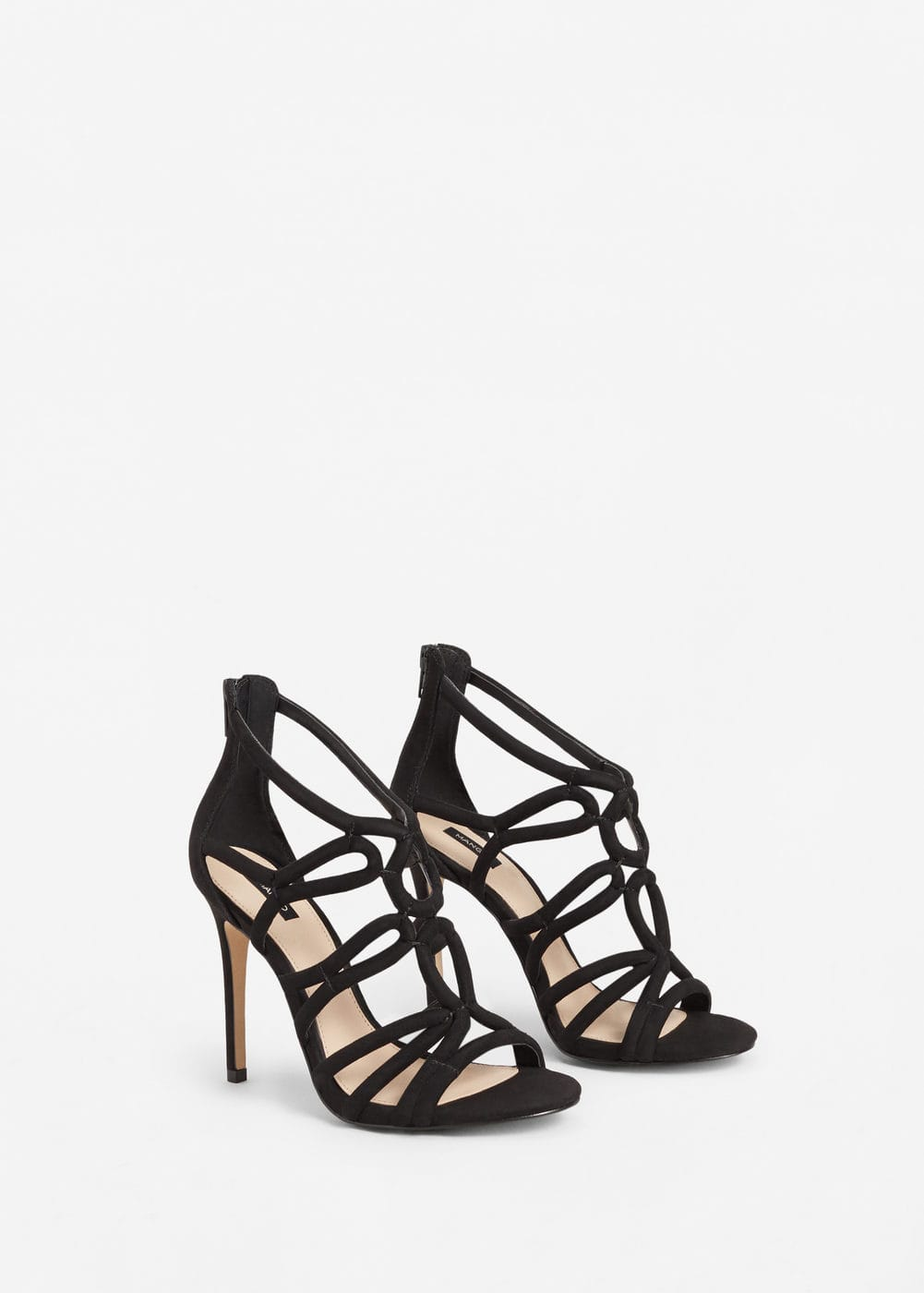 Strappy heeled sandals | MNG