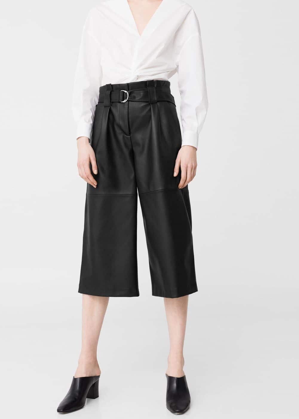 Crop trousers | MANGO