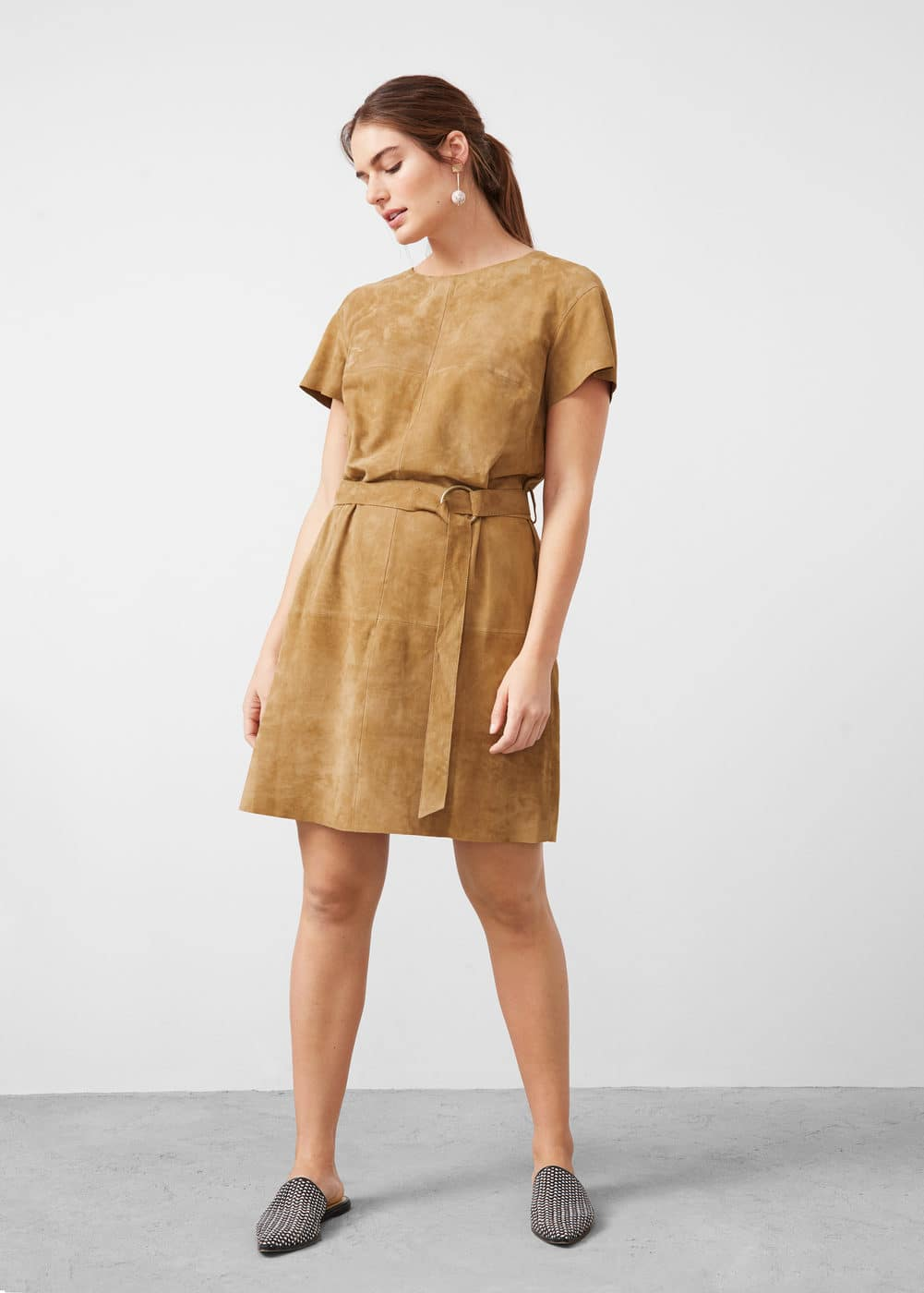 Suede dress | MNG