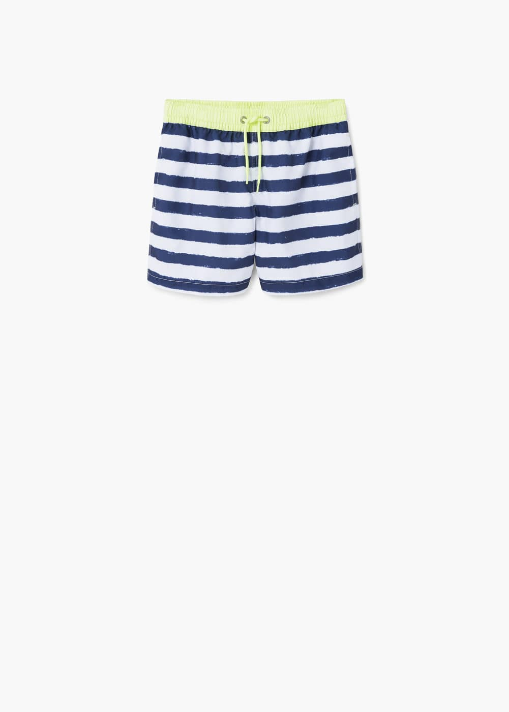 Striped swimsuit | MANGO
