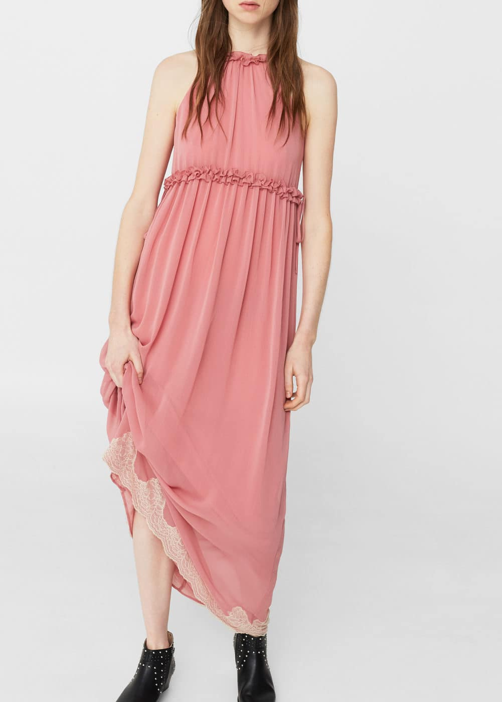 Flowy long dress | MNG