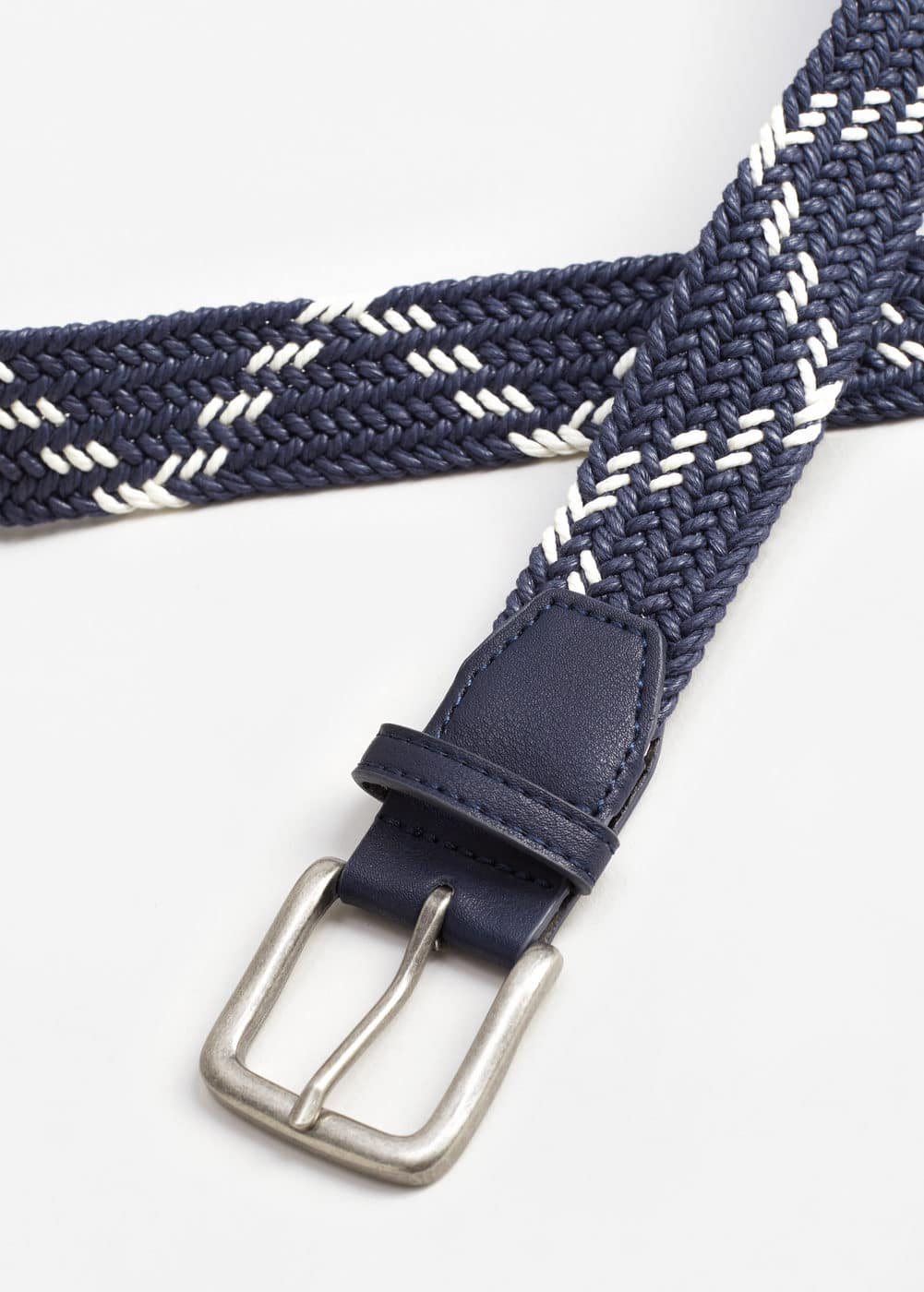 Braided belt | MANGO MAN