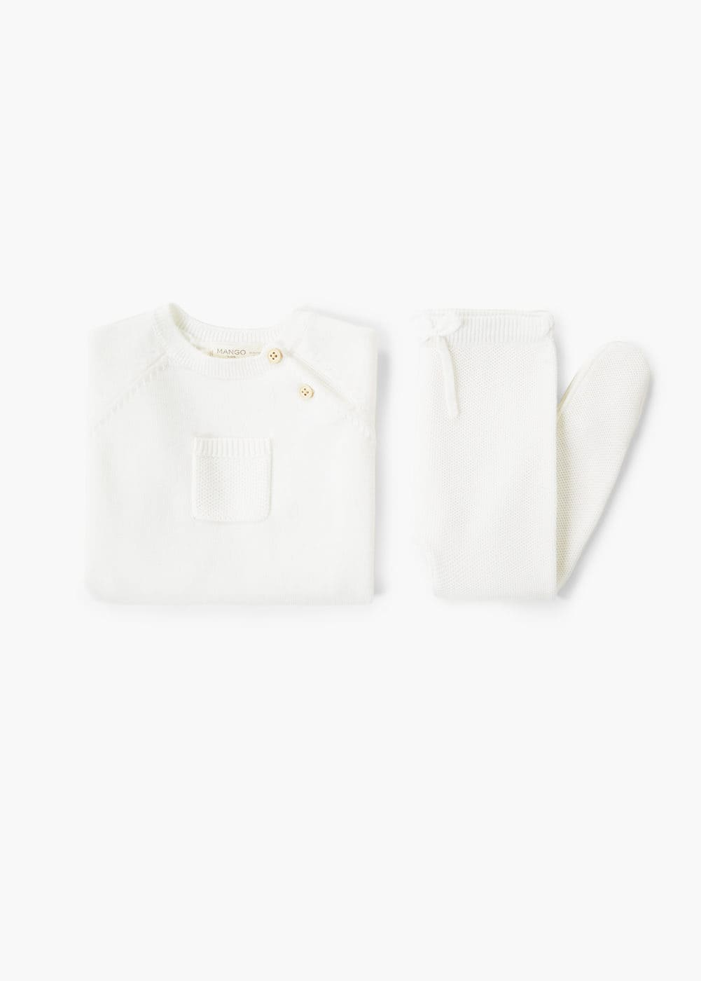 Patch pocket cotton sweater | MANGO KIDS