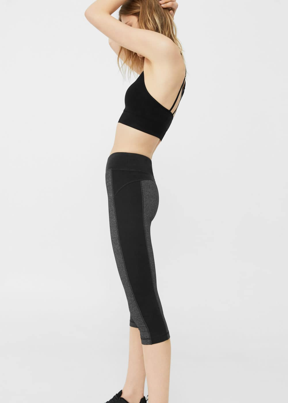 Leggings capri efecte reductor | MANGO
