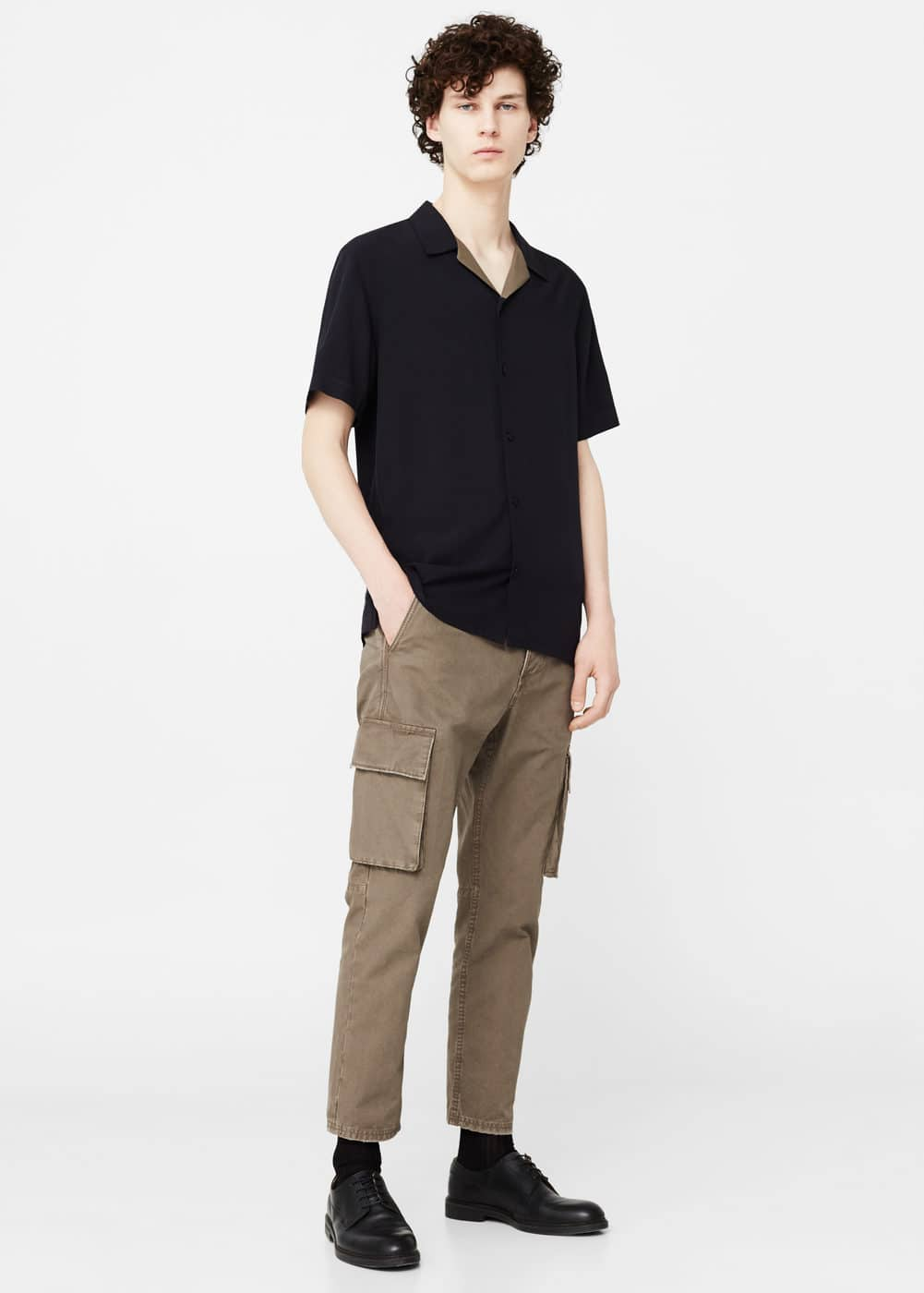 Cotton cargo trousers | MANGO