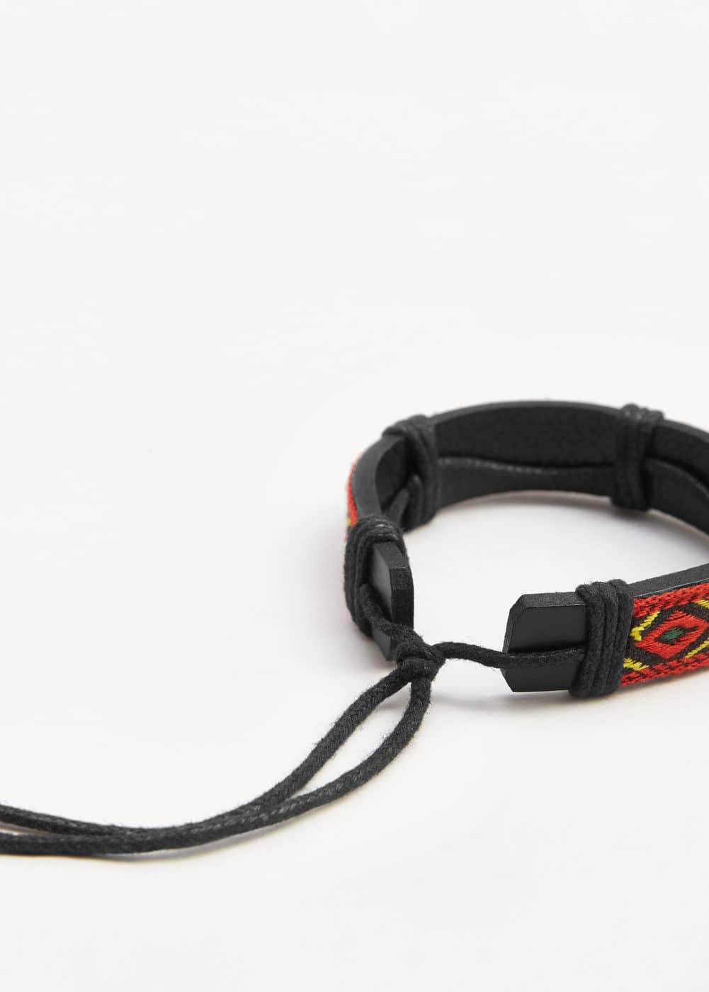 Leather mixed bracelet | MANGO
