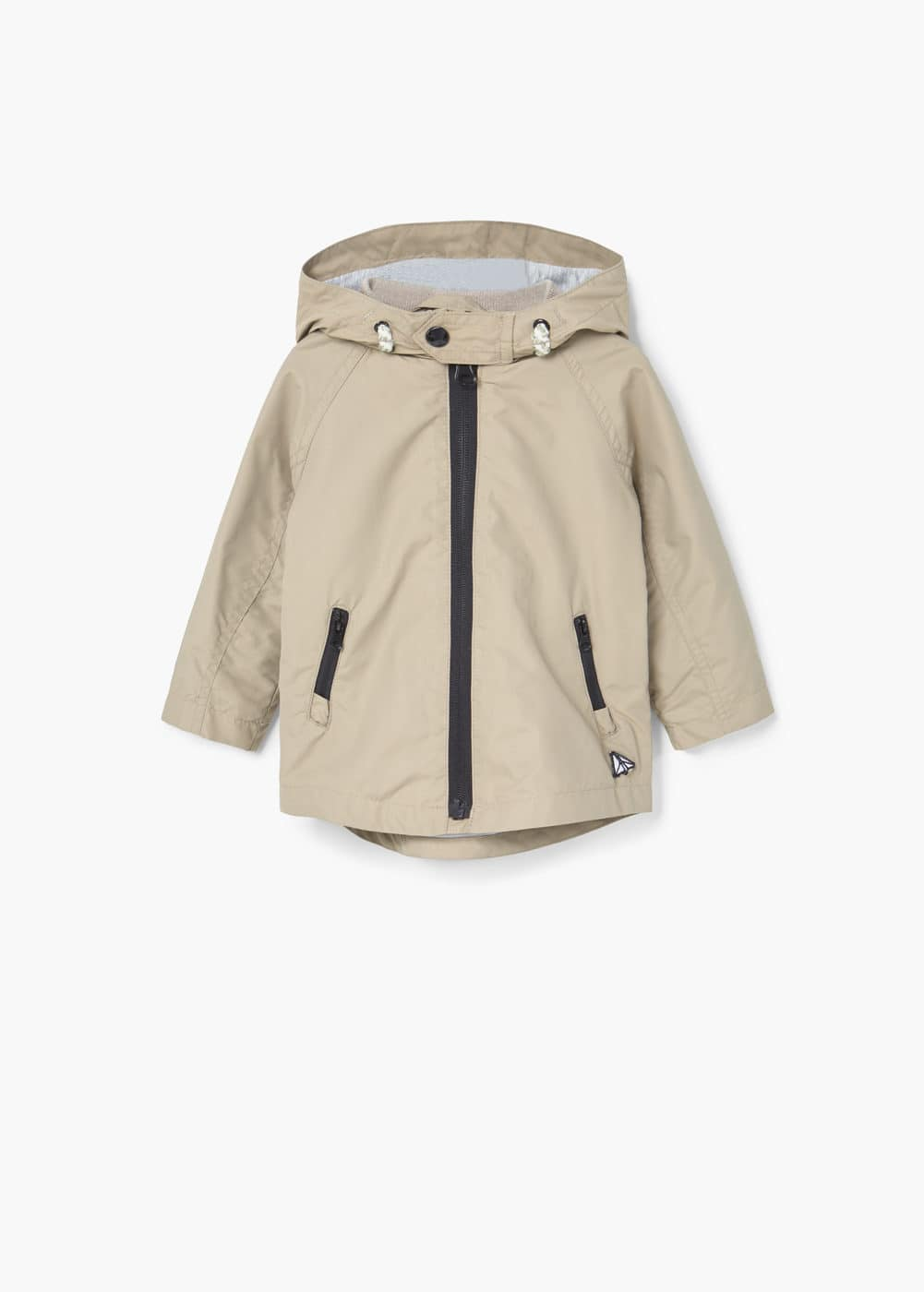 Hooded coat | MANGO
