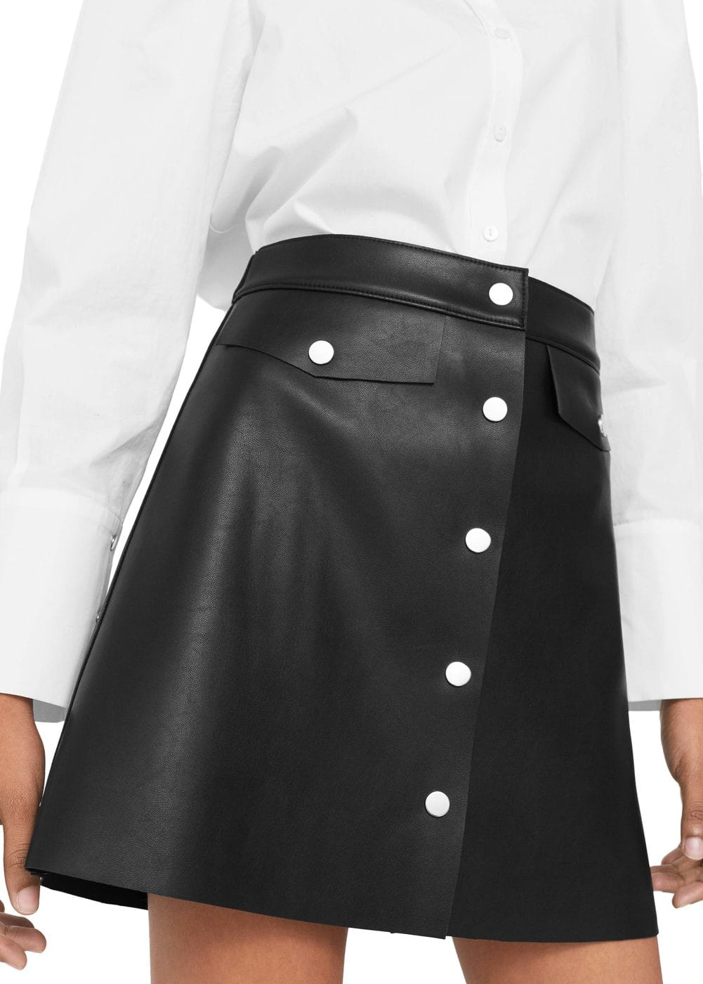 Button skirt | MANGO