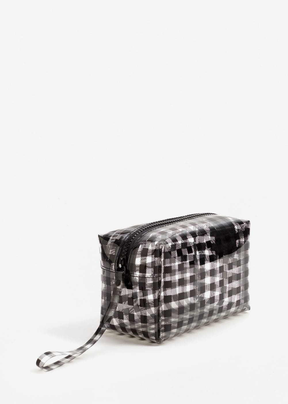 Printed vinyl cosmetic bag | MANGO