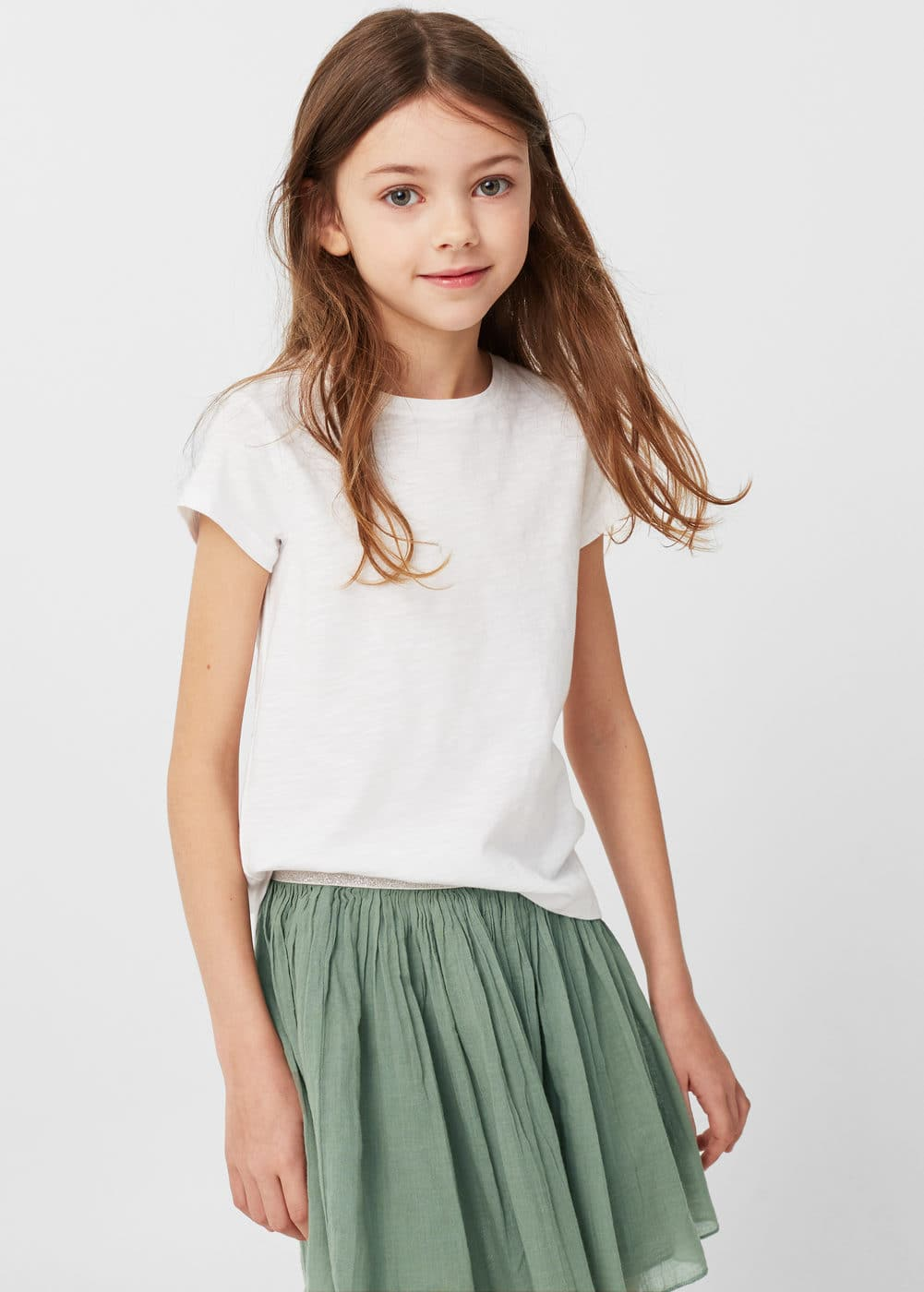 Cotton skirt | MANGO