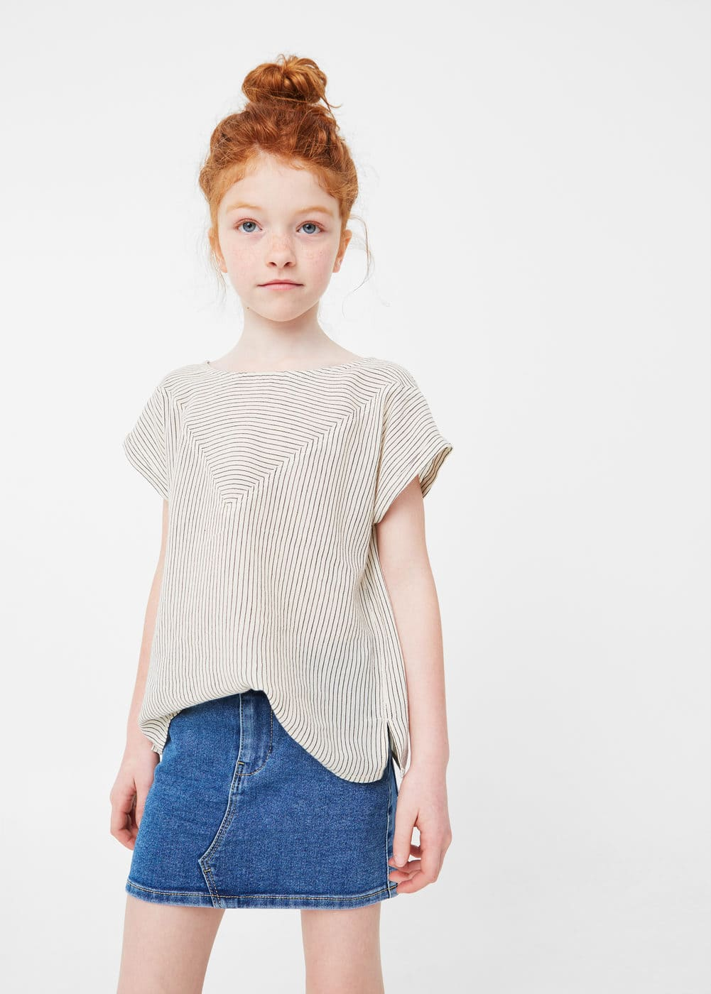 Falda denim | MANGO KIDS