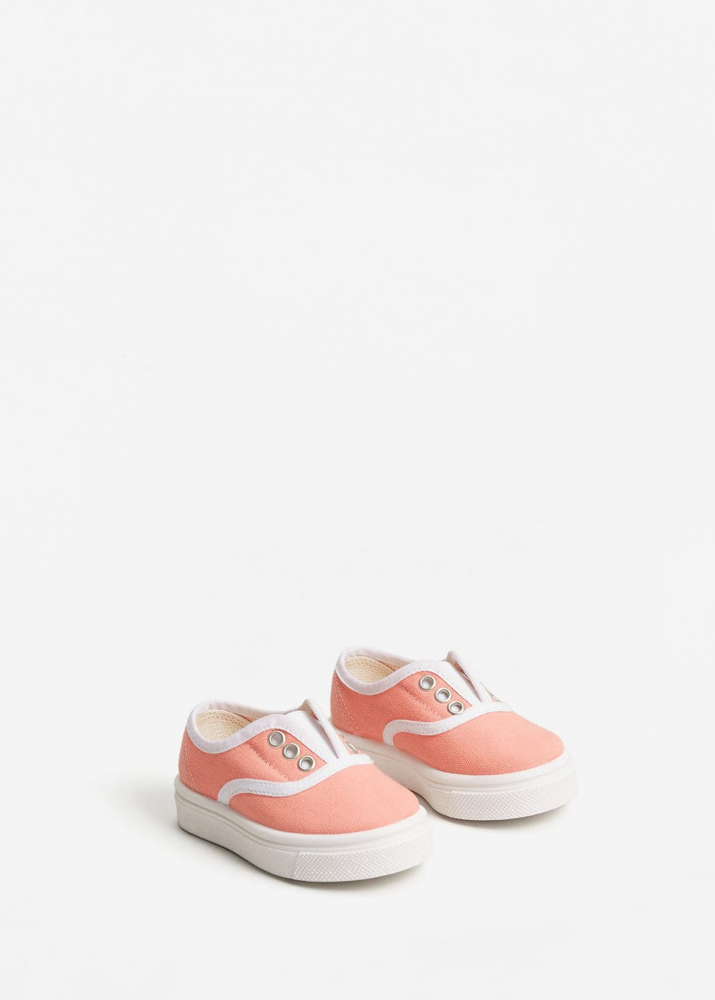 Elastic panel sneakers | MANGO