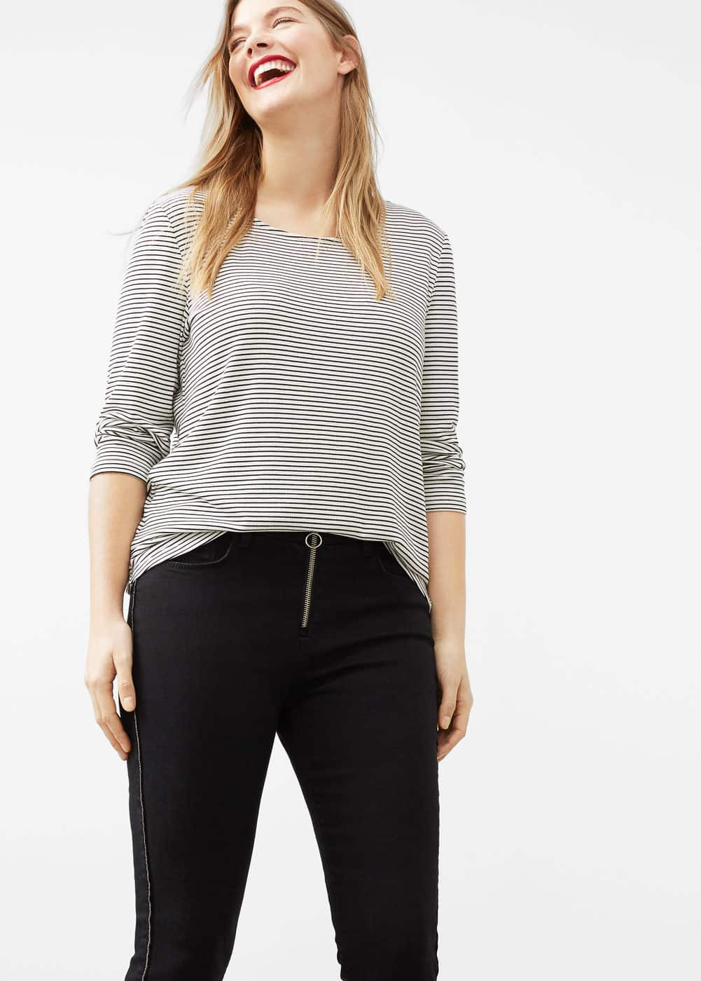 Super slim-fit carlota jeans | VIOLETA BY MANGO