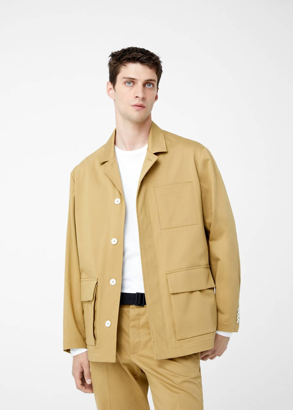 Multi-pocket jacket | MANGO MAN