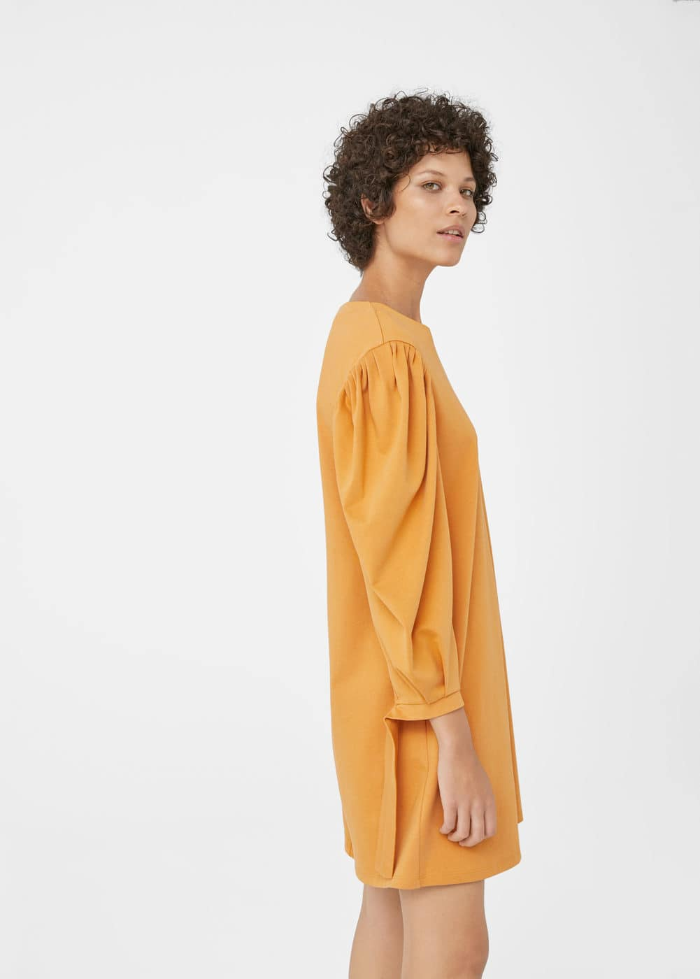 Organic cotton dress | MANGO