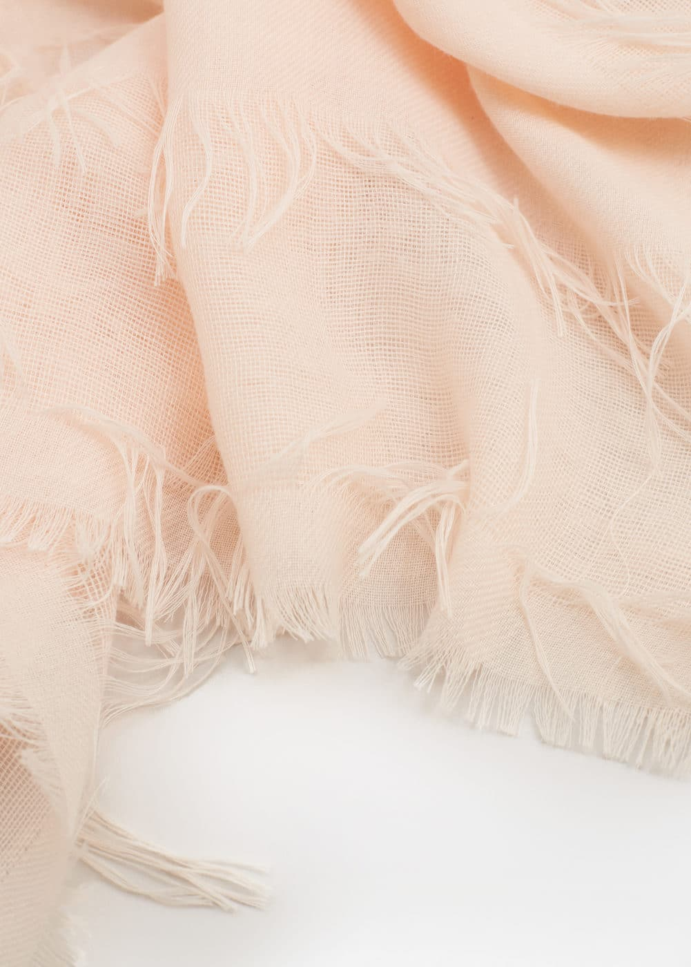 Frayed edge scarf | MNG