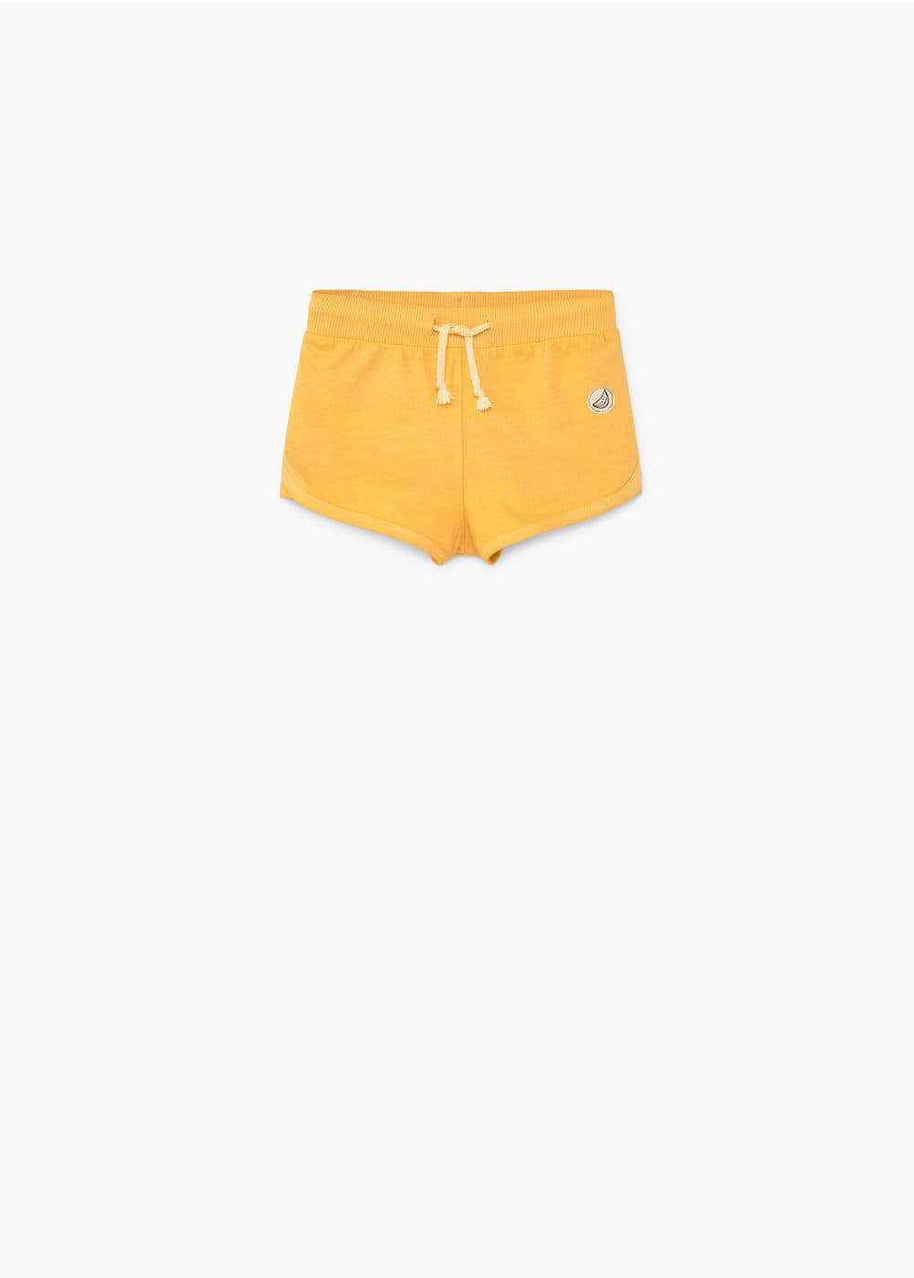 Cotton jogging short | MANGO KIDS