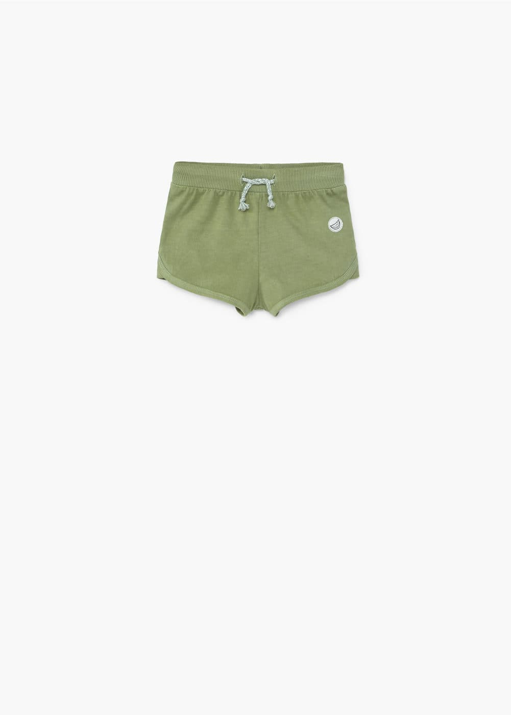 Cotton jogging short | MANGO